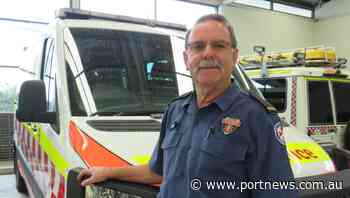 Port Macquarie paramedic Allan Spindler retires after 40 years of service with NSW Ambulance - Port Macquarie News
