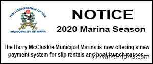 2020 Marina Season - Wawa-news.com
