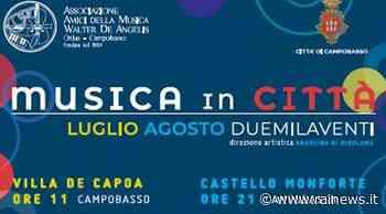 Campobasso riparte con ''Musica in città'' - TGR Molise - TGR – Rai