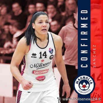 Carolina Sanchez confermata alla Magnolia Campobasso - Molise News 24