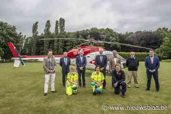 """Rotary Clubs helpen MUG-heli in de lucht houden: """"We redden elk jaar 40 levens"""" - Het Nieuwsblad"""
