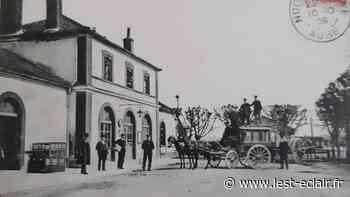 Souvenez-vous: Les chars à bancs en gare de Nogent-sur-Seine - L'Est Eclair