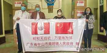 Coronavirus en La Libertad: China dona 50 000 mascarillas a Chepén para prevenir la covid-19 - La Industria.pe