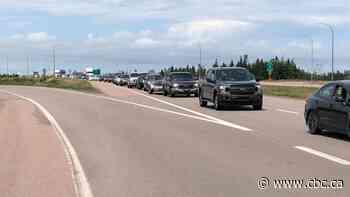 Delays at N.S.-N.B. border becoming 'a bit of a problem,' says truck driver