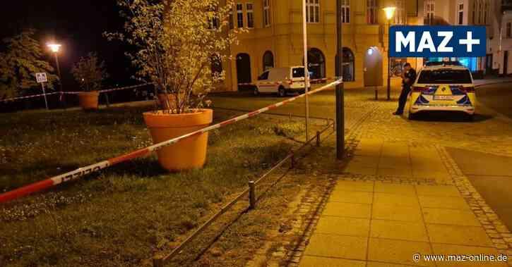 Oranienburg: Nach Großeinsatz der Polizei in gibt es erste Details zur Tat - Märkische Allgemeine Zeitung