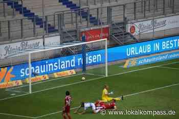 Trotz des deutlichen 4:0-Erfolgs gegen Unterhaching reichte es am Ende nicht: Die Zebras bleiben in der dritten Liga - Lokalkompass.de