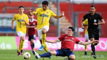 3. Liga: Carl Zeiss Jena gibt Sieg in Unterhaching noch aus der Hand - MDR