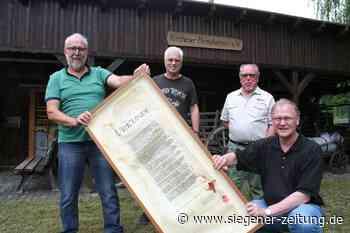Aus dem alten Molzbergbad: Kirchen übergibt Urkunde an Betzdorf - Kirchen - Siegener Zeitung