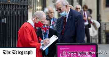 Westminster Abbey opens doors for first Sunday Eucharist Service for 100 days - Telegraph.co.uk