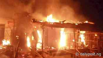 Property worth millions destroyed in Cross River market fire - Daily Post Nigeria