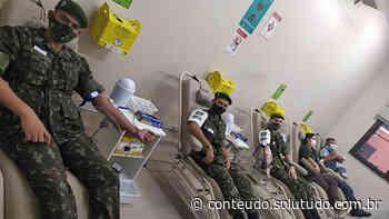 Solidariedade: Tiro de Guerra de Birigui participa de campanha voluntária de doação de sangue - Solutudo - A Cidade em Detalhes