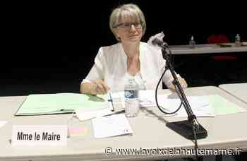 Anne Cardinal, officiellement maire de Langres - La Voix de la Haute Marne