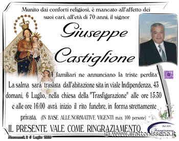 Giuseppe Castiglione - il Fatto Nisseno
