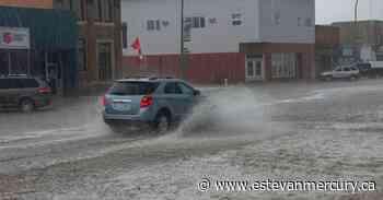 Assiniboia hit with a hailstorm and heavy rain - Estevan Mercury