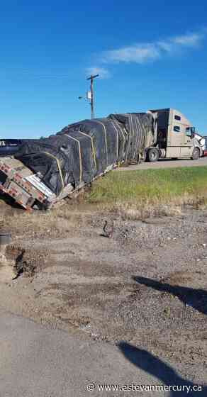 Police and other crews responded to truck incident on Kensington - Estevan Mercury