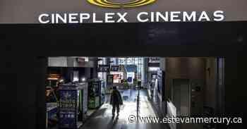 Cineplex sues former buyer Cineworld, seeking damages over failed deal - Estevan Mercury