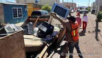 #Cuauhtemoc | Continúa programa de ´Destilichadero´ en colonias de la ciudad - Adriana Ruiz