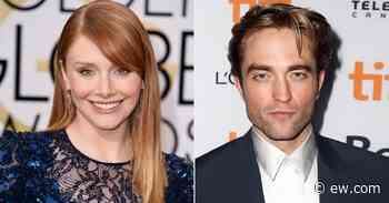 Bryce Dallas Howard used custom Robert Pattinson Post-it Notes for years - Entertainment Weekly