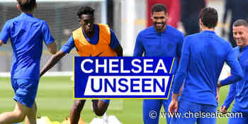 Loftus-Cheek & Hudson-Odoi run riot in epic 1-on-1 drill | Chelsea Unseen - Chelsea FC