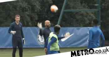 Callum Hudson-Odoi sends reminder to Frank Lampard with class goal in Chelsea training - Metro.co.uk