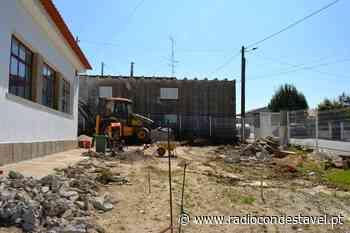 VILA VELHA DE RÓDÃO – Obras do Centro de Convívio de Sarnadas em fase de conclusão - Rádio Condestável
