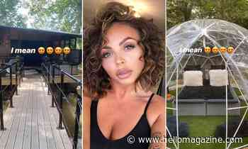 Jesy Nelson's magical staycation is straight out of a fairytale - HELLO!