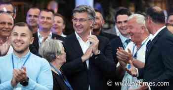 Croatia's Prime Minister Held Early Elections, Hoping for a Covid Bump. He Got One.