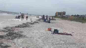 Two hurt, one critically, in lightning strike at Clearwater Beach - Tampa Bay Times