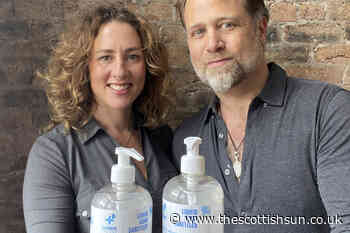 Couple who set up Scots hand sanitiser company ClearWater Hygiene just 12 weeks ago set to make £30 MILLION - The Scottish Sun