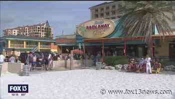 Clearwater Beach businesses welcome holiday crowds - FOX 13 Tampa Bay