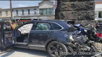 Train Collides With SUV In Aspinwall