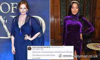 Transgender model Munroe Bergdorf slams JK Rowling as 'dangerous'