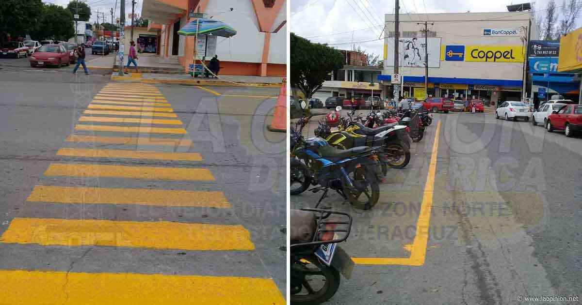 Brindan más seguridad a peatones en Cerro Azul - La Opinión