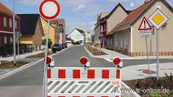 Bauarbeiten in Senftenberg: August-Bebel-Straße muss noch länger gesperrt bleiben - Lausitzer Rundschau