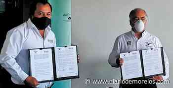 Firma Tepalcingo Convenio con la UAEM - Diario de Morelos