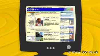 BBC Sport website at 20: How the site has changed over the past two decades