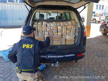Dois motoristas são presos em Nova Mutum com 424 kg de droga que seriam levados para MG - Josuel Sat