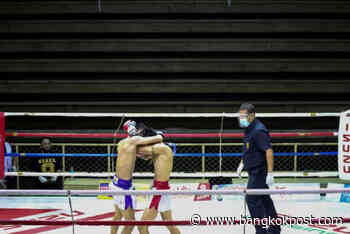Boxing matches resume after lockdown, but audiences stay home - Bangkok Post