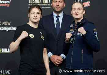 Katie Taylor Prepared To Move Forward With Persoon Rematch - BoxingScene.com