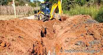 Novas redes de esgotamento sanitário beneficiarão bairros e distrito de Barbacena - barbacena.mg.gov.br