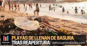Playas de Mazatlan: 19 toneladas de basura en el primer día de reapertura - Pátzcuaro Noticias