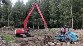 Beuvry-Orchies-Landas : les travaux de la zone d'expansion de crue ont repris - La Voix du Nord