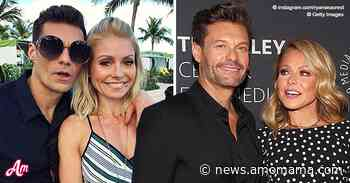 Ryan Seacrest Shares Hilarious Throwback Photo with Kelly Ripa and Fans Love It - AmoMama