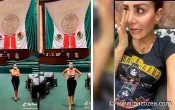 Diputada en el ojo del huracán por #VIDEO de #TikTok grabado en el Palacio Legislativo - PacoZea.com
