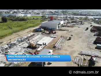 Após passagem do ciclone a cidade de Tijucas começa a voltar a normalidade - ND