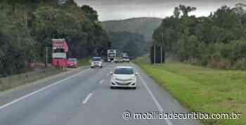 Acidente com veículo interdita BR-376 em Tijucas do Sul - Mobilidade Curitiba