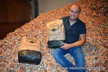 Bad Krozinger Landwirt erfindet mit Maiskohle Grill-Alternative - Bad Krozingen - Badische Zeitung