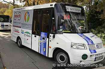 Bad Krozinger Bürgerbus fährt ab 6. Juli wieder - Bad Krozingen - Badische Zeitung
