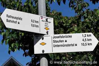 Gemeinde Bad Krozingen will den Schilderwald lichten - Bad Krozingen - Badische Zeitung