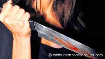 Dos mujeres se pelearon en Santa Lucía y una fue brutalmente apuñalada - Tiempo de San Juan
